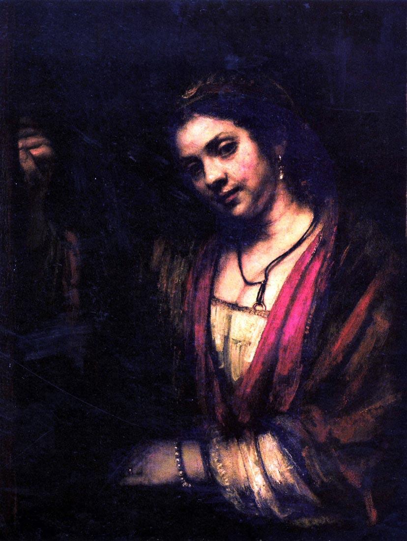 Portrait of Hendrickje Stoffels [1] - Rembrandt